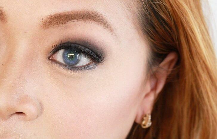 انتخاب رنگ سایه چشم آبی 2